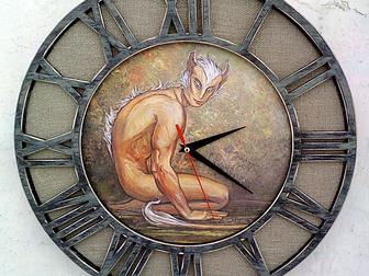 Уникальное фотографию  Необычные оригинальные настенные часы 37821053 в Новосибирске