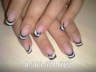 Смотреть фото  Наращивание ногтей, маникюр Новосибирск 38648750 в Новосибирске