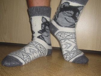 Смотреть фото  Предлагаю шерстяные носки оптом 39016349 в Новосибирске