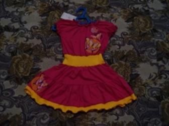 Новое изображение Детская одежда Платье трикотажное на девочку 51785261 в Новосибирске