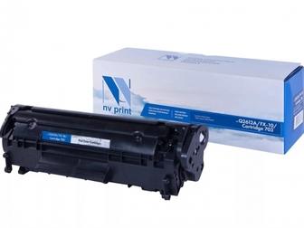 Свежее изображение Принтеры, картриджи Картридж NVP для HP Q2612A/Canon FX-10/703 55550012 в Новосибирске