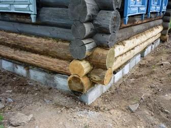Просмотреть фотографию  Строительство домов, бань, Монтаж, демонтаж, Подъем дома, замена венцов, Ковка 66486537 в Новосибирске