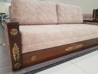 Смотреть фотографию Мягкая мебель Продам диван-кровать Юнна-Рамзес 69337703 в Новосибирске
