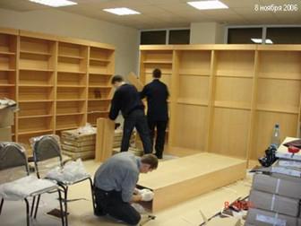 Новое foto  Разбор торгового оборудования,сборка мебели 70427648 в Новосибирске