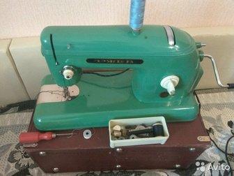 Машина 1962 года выпуска,  В отличном состоянии, работает,в комплекте педаль, кожаный кофр на замках, в Новосибирске