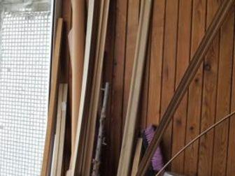 Освобождение балкона,  Остатки от ремонта: доски, подложка, плинтус и т, д,  Тумба 93х36х64см,  Кастрюли,  На даче все пригодится, Самовывоз, спустить не помогу в Новосибирске