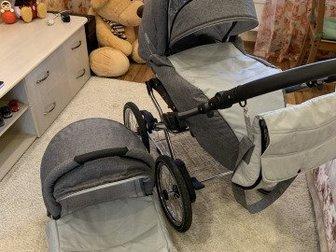 Продам детскую коляску классической модели,  В отличном состоянии 5 из 5,  Пользовались с ноября по март ( покупали в рич фэмили),  Коляска-вездеход, проверено нашими в Новосибирске