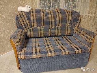 Диван и кресло раскладываются, в хорошем состоянии,с момента покупки один хозяин в Новосибирске
