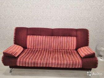 Продам диван, б/у,   Длина 205см,  Одно спальное место 205см,  на 125см, В хорошем состоянии, в Новосибирске