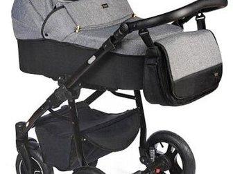 Очень удобная компактная коляска,  Итальянский дизайн, Большие надувные колёса позволяют пробираться по любым сугробам, песку и пр,  при этом идёт очень мягко, ребёнка в Новосибирске