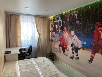 Продается 2 комнатная квартира в отличном состоянии , Ремонт выполнен из качественных дорогостоящих материалов,стены выравненные,натяжные потолки в двух комнатах,в в Новосибирске