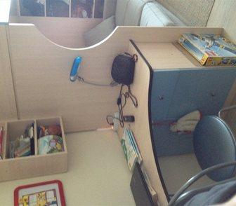 Изображение в   продам комплект детской мебели: кровать-чердак, в Новосибирске 8500