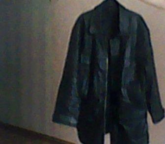 Фотография в   Продам куртку мужскую кожаную, цвет чёрный, в Новосибирске 2000