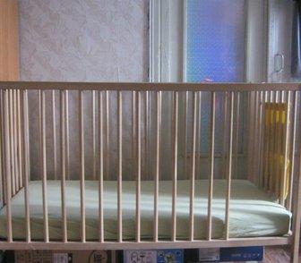 Фото в   Продам детскую кроватку от 0-3 лет 120х60см. в Новосибирске 900