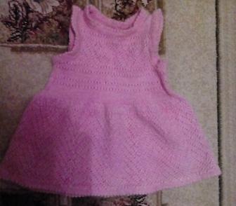 Фото в Для детей Детская одежда Продам вязанный сарафан на 2-3 годика Длина в Новосибирске 300