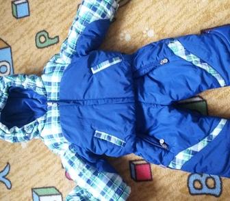 Фото в   Комбинезон на мальчика рост 80-86. Ткань в Новосибирске 2200