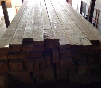 Фотография в Строительство и ремонт Строительные материалы Брус, доска из лиственницы, длина 6 метров, в Новосибирске 9000