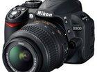 Фотография в Бытовая техника и электроника Фотокамеры и фото техника Продам цифровую зеркальную фотокамеру Nikon в Обнинске 25000
