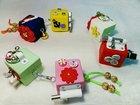 Бизикубики, дорожный бизиборд Развивающие игрушки