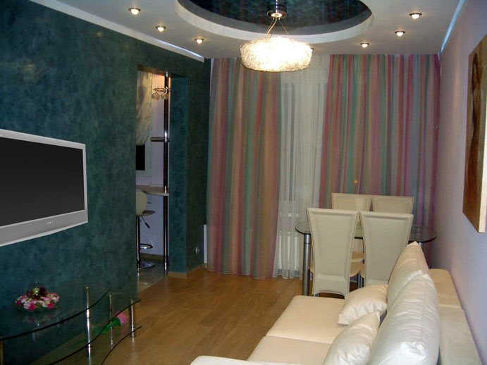 Дизайн комнаты в 1-комнатной квартире фото