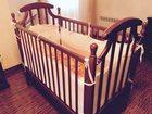 Фото в Для детей Детская мебель Продается детская кроватка-колыбель из массива в Омске 7000
