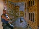 Фото в   Роспись стен классическая и фактурная. Большой в Омске 4500