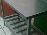 Разделочный стол Срочно! Продается нержавеющий разделочный стол размеры 1300х700