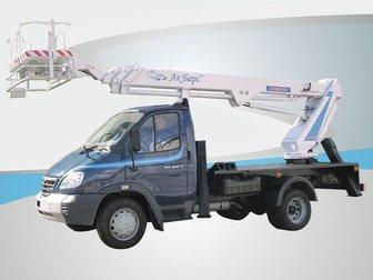 Скачать фото Спецтехника Автоподъёмник, автовышка TA-22 на шасси ГАЗ-33106(Валдай) 32676057 в Омске