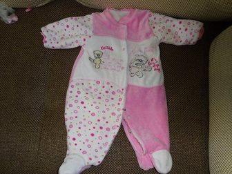 Новое изображение Детская одежда комбинезон весна-осень для девочки 62 см, 33340477 в Омске