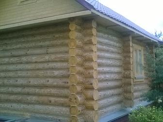 Смотреть foto Строительство домов Строим бани, сауны, срубы 36042240 в Москве