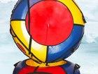 Уникальное фото  Надувные санки с чехлом в комплекте 37651295 в Орле