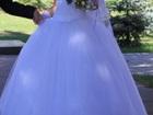 Фотография в Одежда и обувь, аксессуары Свадебные платья Продается белое свадебное платье. Корсет в Оренбурге 5000