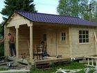 Изображение в Строительство и ремонт Другие строительные услуги кровля монтаж крыш, заборы, бани, туалет, в Пензе 300