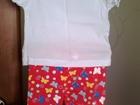 Уникальное фотографию Детская одежда продам новые футболку и бриджи 38463755 в Пензе