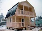 Скачать бесплатно фотографию  Строительство каркасного домика 5х6 на даче в Пензе недорого под ключ 68170185 в Пензе