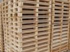 Смотреть фото  Продажа деревянных поддонов 69117112 в Пензе
