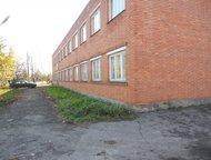 Отдельно стоящее здание из красного кирпича Здание площадью 1000 кв. м. Два этаж