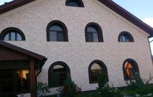 Фасадные панели с имитацией под камень и кирпич