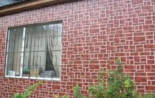 Эффектное решение для фасада, цоколя и забора