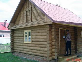 Просмотреть foto  Строить бани и срубы в Пензе умеем мы, дома, коттеджи, дачи 34245731 в Пензе