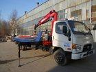 Скачать изображение  Эвакуатор Hyundai 78 со движной платформой с КМУ 33240763 в Перми