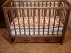 Кроватка детская массив березы