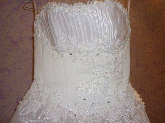 Смотреть изображение Свадебные платья Продам белоснежное свадебное платье 33373563 в Перми
