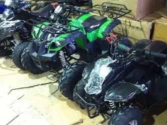 Просмотреть изображение Квадроциклы Аналог Grizzly 110cc, мощный, новый, от 4-5 лет и старше, Новые, в наличии, 38203752 в Перми