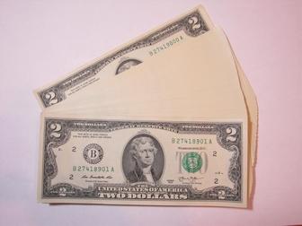 Просмотреть фото Коллекционирование 2 доллара США 2013 г, На удачу 100 штук подряд 54888894 в Перми