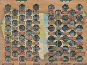 Новое фото Коллекционирование Квотеры «Парки США» (2010г, -2018г,) 57235099 в Перми