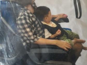 Продам детское удерживающее устройство, для перевозки ребёнка на коленях,  Расчитано для детей от 6мес до 2 лет,  Надежно пристегивает ребенка к маме при езде на в Перми