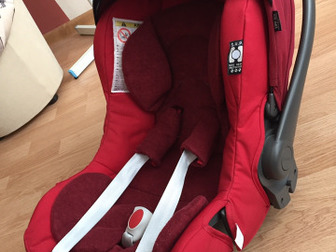 Продам переноску, автомобильное кресло для детей от 0,  Есть вкладка для новорожденных,  Пятиточечные ремни безопасности,  После одного ребенка,  В использования в Перми