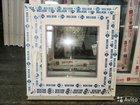 Новое окно пвх 500*500 двухкамерныйэ стеклопакет