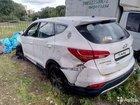 Hyundai Santa Fe 2.4МТ, 2012, внедорожник, битый